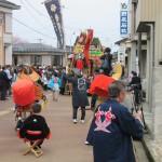 鏝絵と下条川千本桜祭りが開催されました